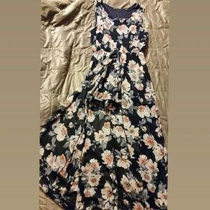 Rue21 Floral Romper Dress Size XL